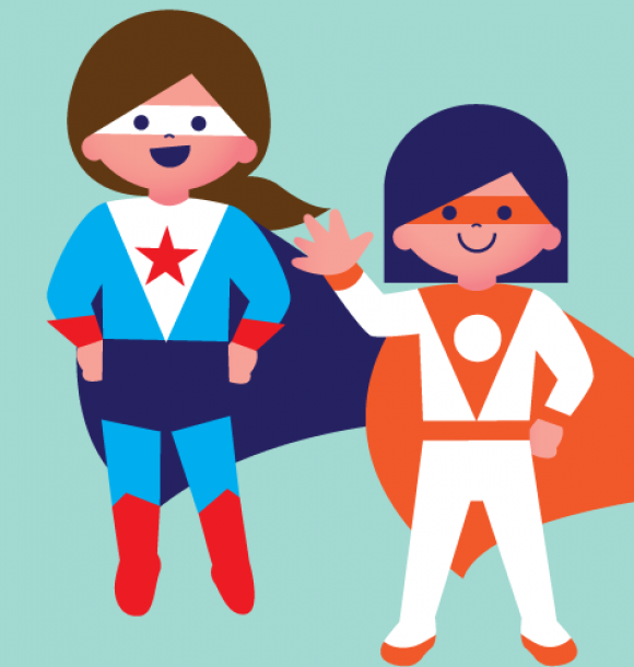 La grande bataille des super-héros